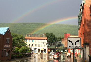 view of Brattleboro, VT