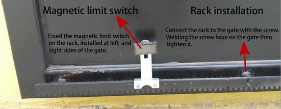 Automatic Sliding Gate Opener Auto Driveway Gate Operator