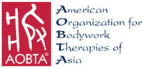 logo of The American Organization for Bodywork Therapies of Asia
