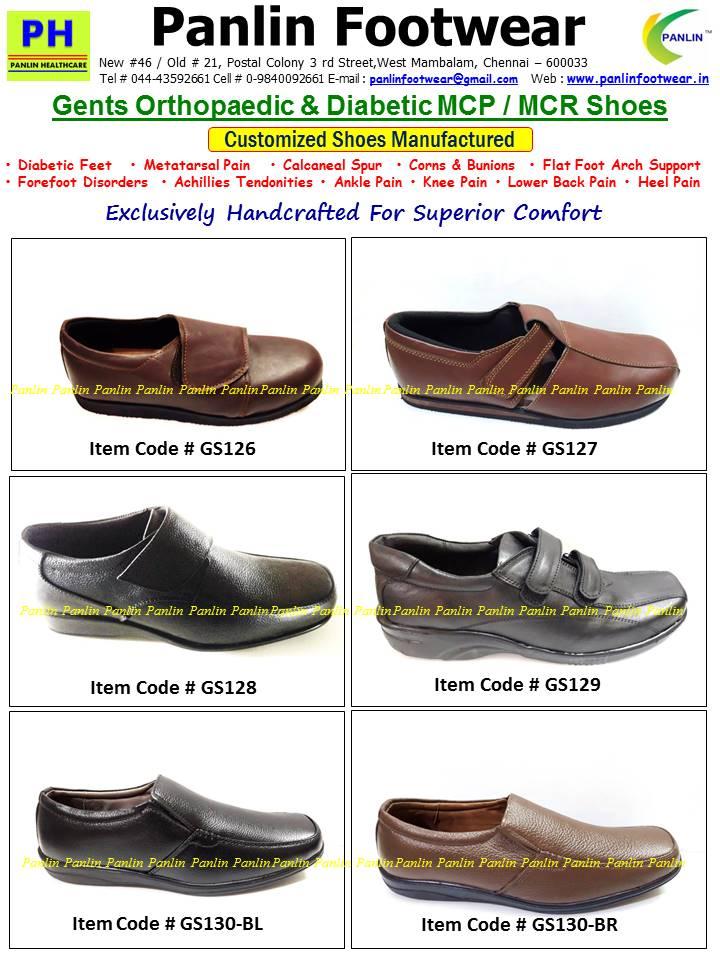 Panlin Footwear Diabetic Footwear Mcr Slippers Shoe Stores Shoes