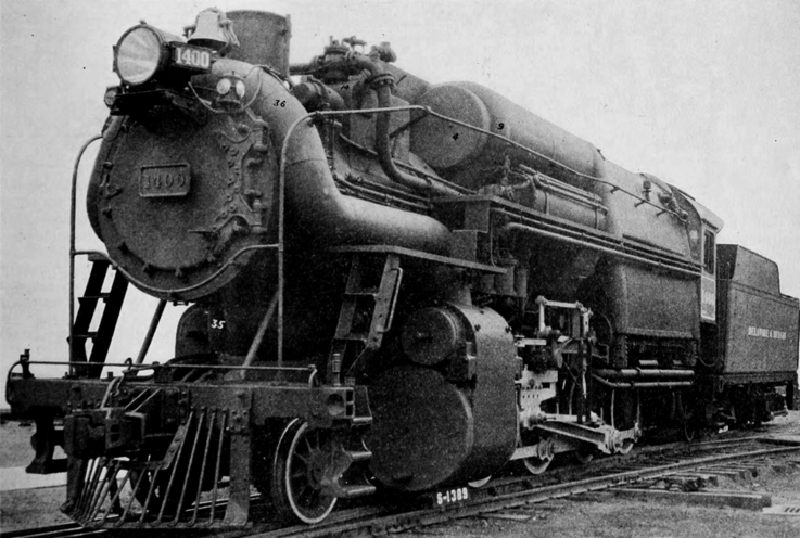 The Horatio Allen, the New High-Presssure Consolidation Locomotive Built for the Delaware & Hudson Company, 1924.