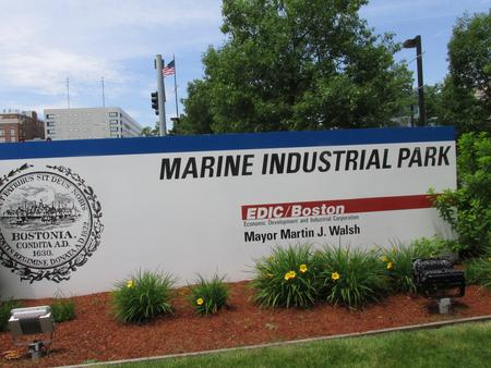 Exterior Sign, MIP site sign
