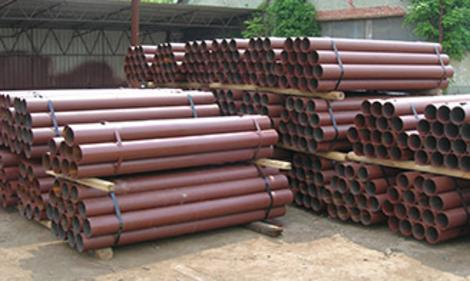 Steel Pipe Bollards in 4,6,8,10 inch diameters