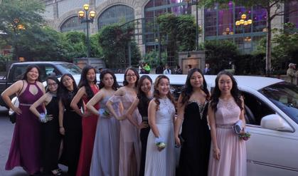 Prom Party Bus & Limousine service NYC
