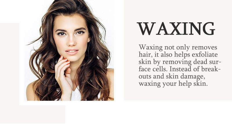 Waxing model. Waxing not only removes hair, it also exfoliates skin! Find out more below.