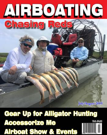 Airboat Magazine July August 2019