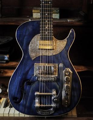Midnight Special Guitar made by Postal Guitars