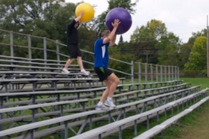 Outdoor obstacles velocity athletic trainng