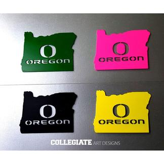 Oregon_Ducks_Magnets_Green_Black_Yellow_Pink_White_Silver_Small_O_University_of
