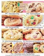 Super Duper Dough 1-Page Cookie Dough Fundraiser Brochure