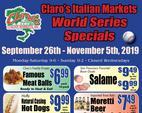 Current Specials call 800-507-0450 for a snailmail copy