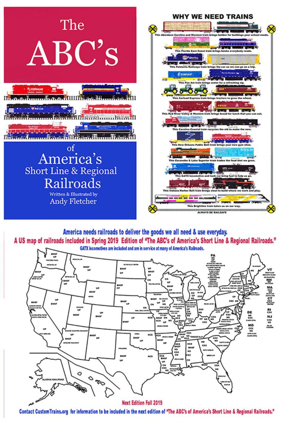 About Andy Fletcher, Railroad Artist