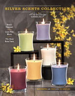 Heritage Candles Silver Scents Candle Fundraiser