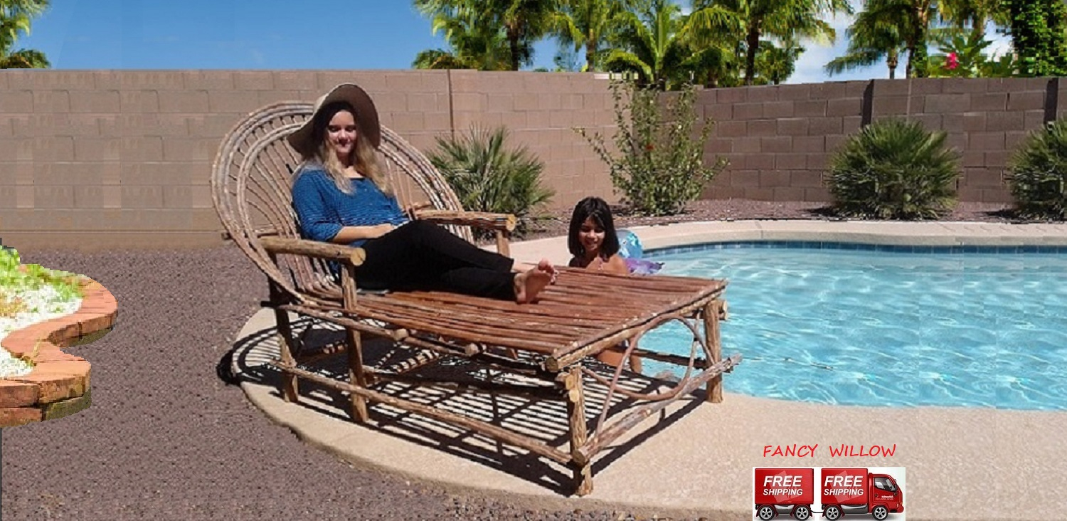 Handcrafted pool and patio furniture
