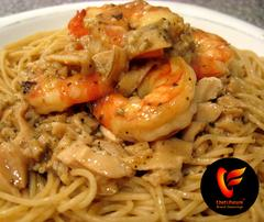 Cajun Shrimp in Zesty White Clam Sauce-Chef of the Future-Your Source for Quality Seasoning Rubs