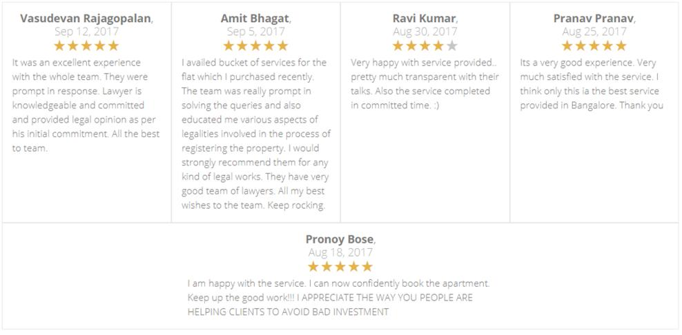 lawyerinbangalore.in reviews