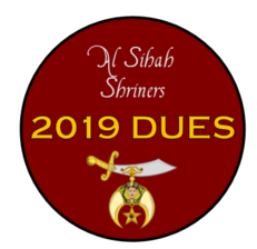 Pay Dues - 2019 - Al Sihah Shriners