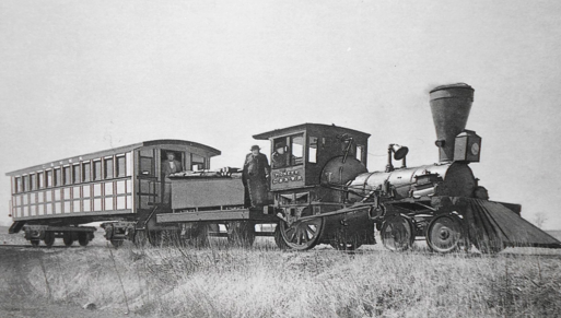 Galena and Chicago Union Railroad Pioneer Locomotive, 1852.