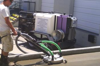 A1 Pressure Washing performing EPA compliant waste water reclamation, filtration, and disposal typs of pressure washing