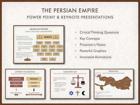 The Persian Empire Presentations