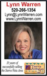 Lynn Warren, Realtor, Tierra Antigua Realty Sierra Vista