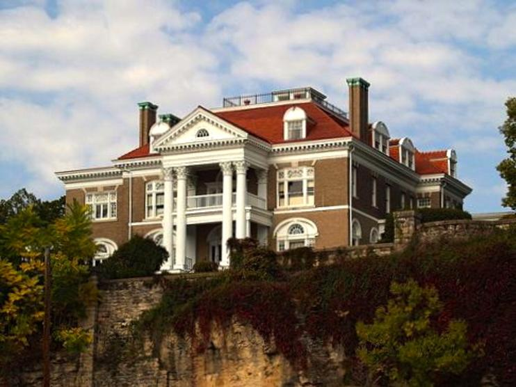 Rockcliffe Mansion, a Historic House Museum and Bed and Breakfast in Hannibal Missouri