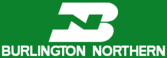 Burlington Northern herald.