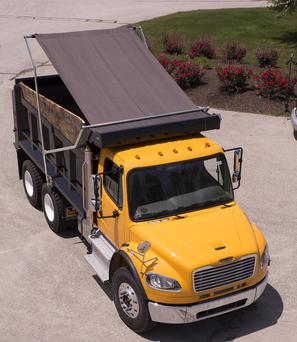 Aero easy cover flip tarp series. Aero's flagship line of tarping systems for every dump truck or dump trailer application