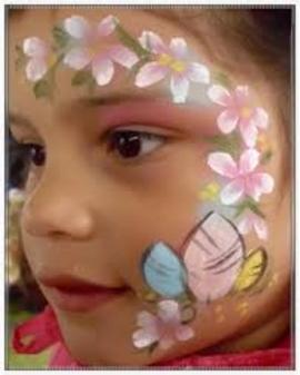 {Kids party face painter} [[face painting for adults, makeup artists Chicago]]