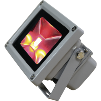 LED mini flood light rgb left hand side.