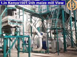 big industrial maize milling plant for Kenya