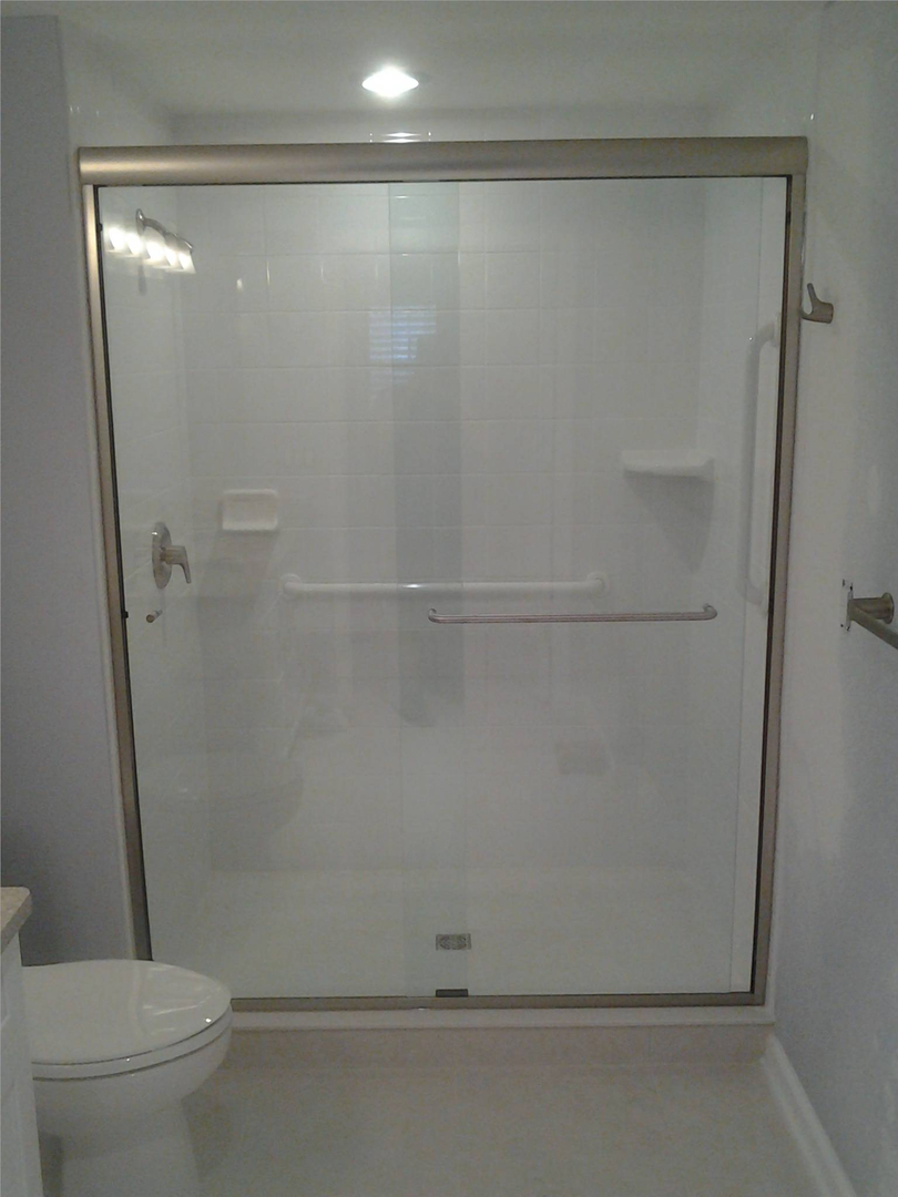 Semi Frameless Tub Shower Enclosures