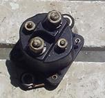 Used starter solenoid for a Chrysler and Force outboard FK460917 or 89-817109A3