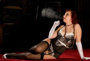 mature erotic smoker
