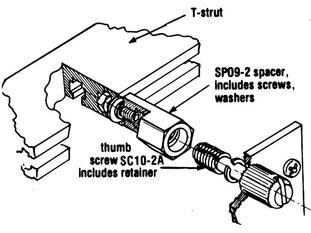 SC10 Module front panel hardware   Vector Electronics
