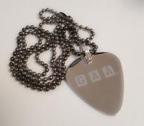 Guitar Addicts Anonymous Official Members Necklace