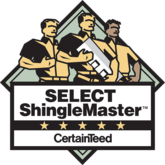 select shingle master certainteed; shingle master roof systems; Houston roof contractors