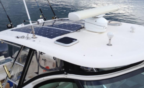 Flexible solar panels perfect for boats