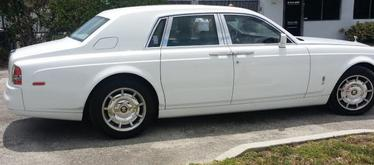 Wedding Limo Service Phantom Rolls Royce