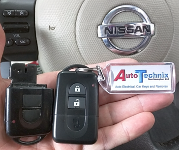 Replacement Nissan remote keys