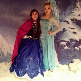 Hire Elsa and Anna, Disney style princesses