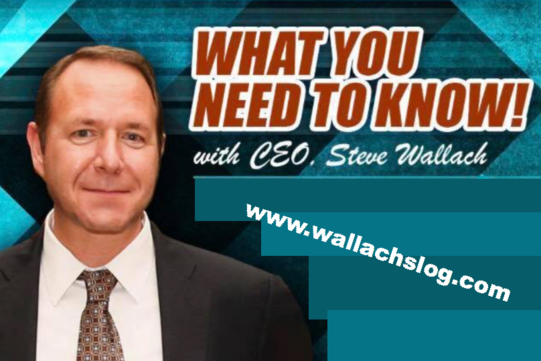 Steve Wallach - Chairman and Chief Executive Officer