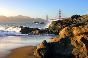 San Francisco Golden Gate Bridge Landscape