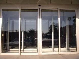 automatic sliding door commercial