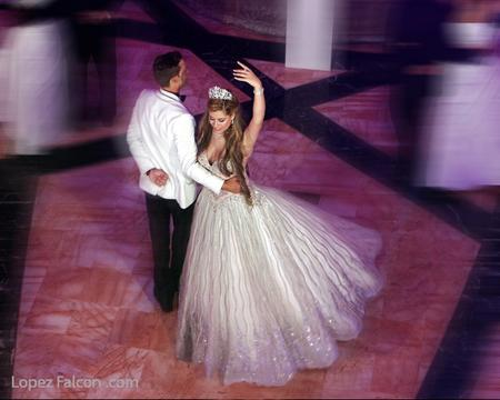 QUINCEANERA DANCE COURT MIAMI COLONNADE HOTEL PHOTOGRAPHY VIDEO DRESS