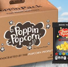 Salty and Sweet Poppin' Popcorn Fundraiser Brochure