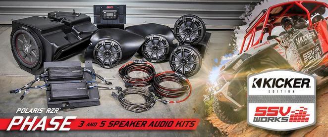 Car Audio Specialists Near Me >> Kicker Side by Side Audio Systems - Canton Akron Alliance Ohio - Polaris RZR Ranger Can-AM - Honda