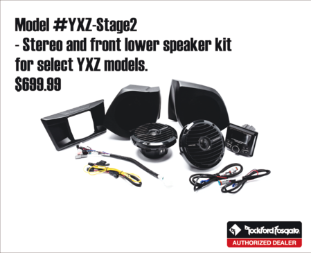 YXZ speaker and radio kit - autosport plus - Canton Akron Ohio