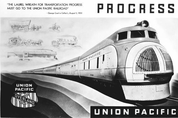 A 1934 advertisement depicting the M-10001.