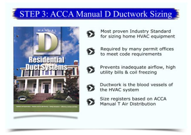 What is manual d manual d is the accepted method for sizing hvac hvac design step 3 acca manual d duct design solutioingenieria Gallery